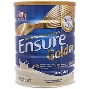Sữa ensure gold 850 g