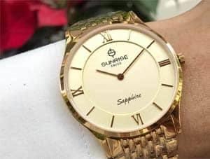 Đồng hồ  Sunrise Nam DM736SWB