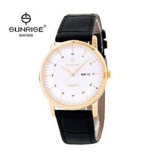 Đồng hồ nam dây da Sunrise DM780MK
