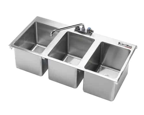 Bồn rửa chén 3 ngăn