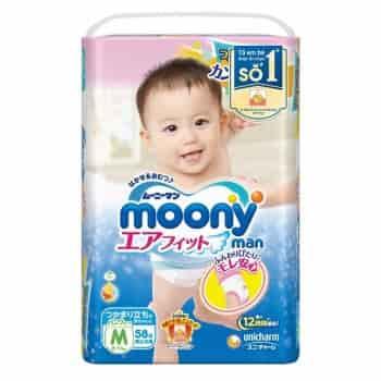 Miếng lót sơ sinh moony