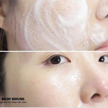 Sữa Rửa Mặt Trà Xanh Green Tea Foam Cleanser (3)