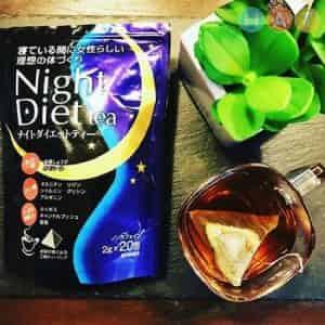 Trà giảm cân Night Diet của Nhật