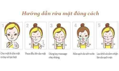 Cách sử dụng sữa rửa mặt làm sạch da hiệu quả