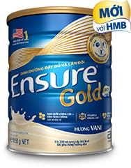 Sữa ensure gold mẫu mới