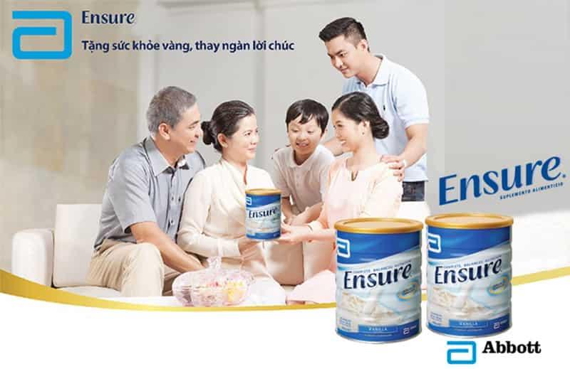 các lợi ích của sữa ensure cho sức khỏe