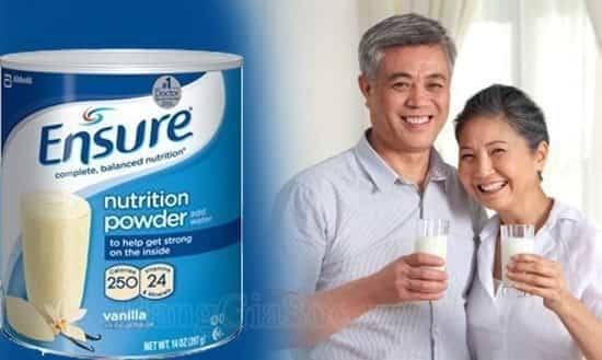 Sữa ensure gold rất tốt cho người cao tuổi