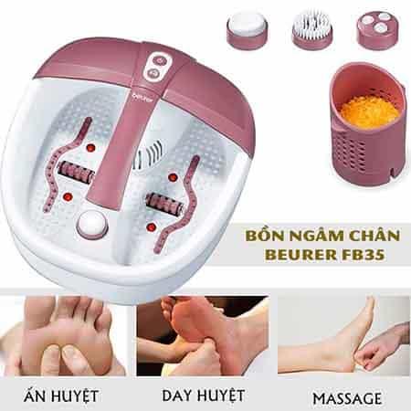 Bồn Ngâm Chân Massage Đa Năng Beurer FB35
