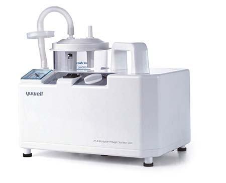 Máy hút mũi chạy điện Yuwell 7EB 1 bình chứa phù hợp không chỉ với bé nhỏ mà còn dành cho đại gia đình