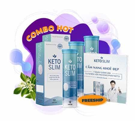 Đặt mua viên sủi giảm cân Keto Slim