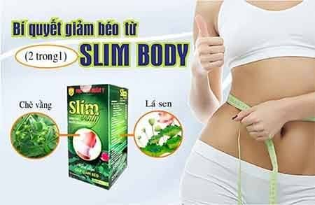 Thuốc giảm cân Học Viện Quân Y Slim Body