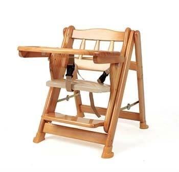 Ghế ăn dặm chất liệu gỗ
