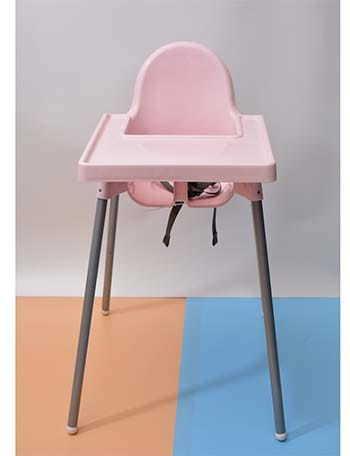 Ghế ăn dặm IKEA Antilop với nhiều màu sắc đa dạng tạo sự thích thú cho bé khi ăn