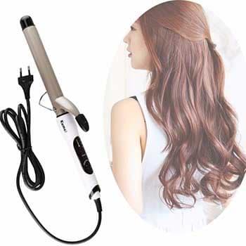 Máy uốn tóc là vật dụng làm đẹp không thể thiếu của chị em phụ nữ