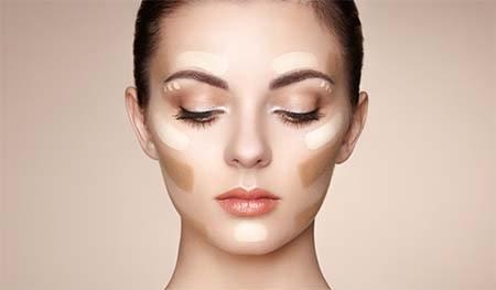 Tip tạo khối cho khuôn mặt chuyên nghiệp như chuyên gia với kem che khuyết điểm