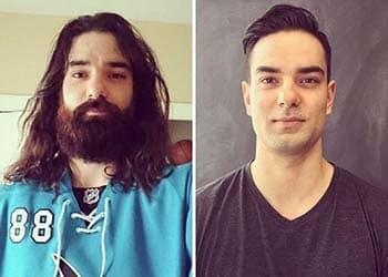 """""""Hack"""" tuổi khi khuôn mặt anh ấy trở nên nhẵn nhụi nhờ máy cạo râu"""