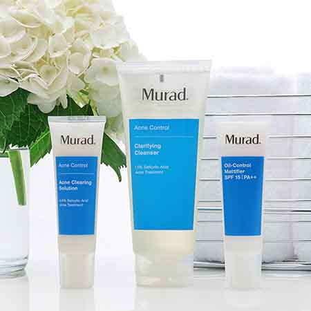 Bộ sản phẩm trị mụn Murad