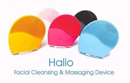 Halio Facial Cleansing & Massaging Device với 4 tông màu