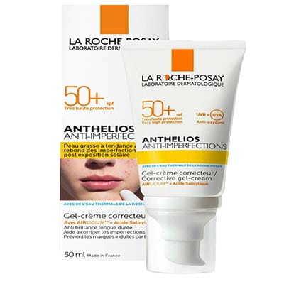 La Roche-Posay  Anthelios Anti-imperfectment Corrective Gel-Cream Spf50 +  - Cho da dầu mụn