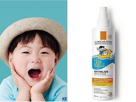 La Roche Posay Anthelios Dermo-Pediatrics SPF 50+ . Kem chống nắng dành cho trẻ em.