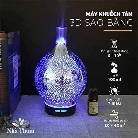 Máy xông tinh dầu 3D cao cấp của Kepha
