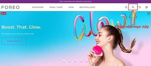 Website chính thức của Foreo toàn cầu