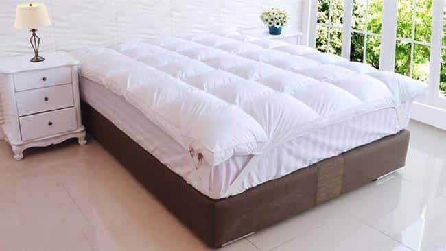 Các tấm topper nệm thường dùng trong khách sạn cao cấp