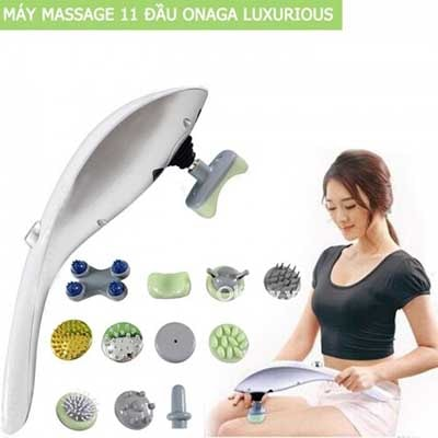 Máy Massage Hồng Ngoại Cầm Tay 11 Đầu Luxurious