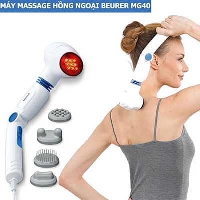 Máy Massage Cầm Tay Có Đèn Hồng Ngoại Beurer MG40