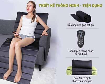 Nệm massage toàn thân Elip Family 1080
