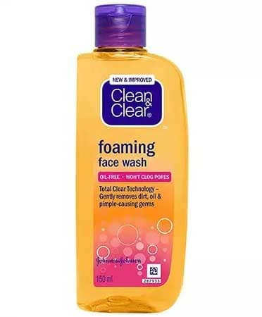 Sữa rửa mặt Clean & Clear Foaming Face Wash tạo bọt sạch