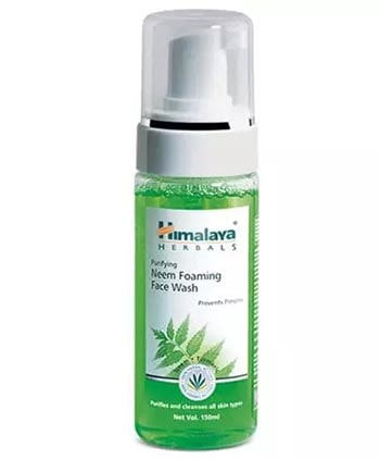 Sữa rửa mặt tạo bọt Himalaya Herbals Purifying Neem