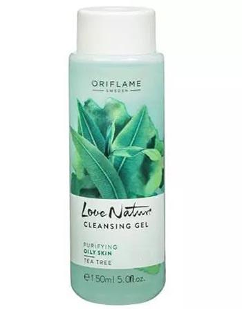 Sữa rửa mặt cho da dầu Oriflame Love Nature Tea Tree Cleansing Gel