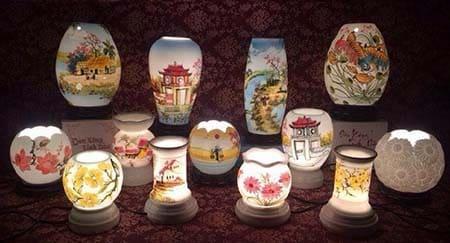 các mẫu đèn xông tinh dầu bát tràng