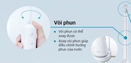 Vòi phun có thể điều chỉnh xoay 360 độ