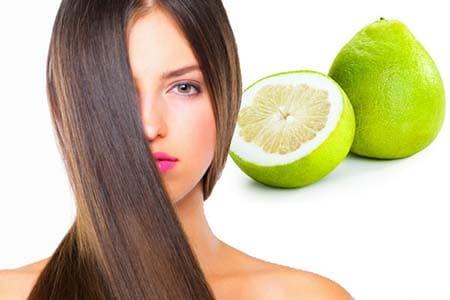 Tinh dầu bưởi chăm sóc tóc