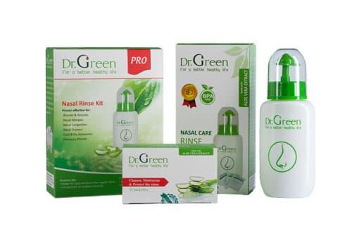 Các công dụng của Bình rửa mũi Dr green