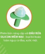 Sử dụng chất liệu  không chứa BPA, silicon y tế.