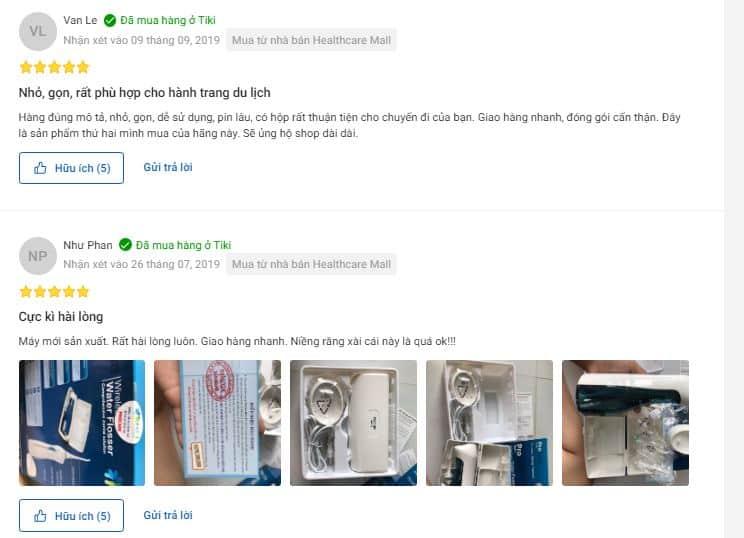 Đánh giá máy tăm nước Procare KHD13