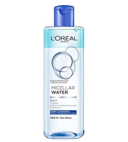 Tẩy trang L'Oreal Paris Micellar Water Deep Cleasing (chai màu xanh dương đậm )- Dành cho mọi loại da