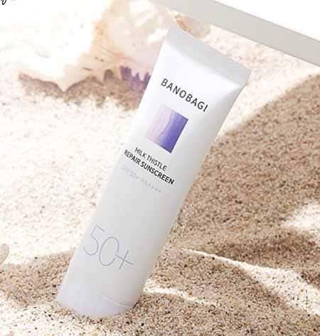 Kem chống nắng banobagi Milk Thistle Repair SunScreen