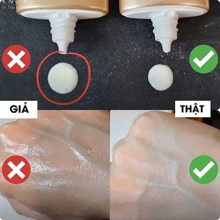 Cách phân biệt kem chống nắng Centella skin 1004 thật và giả