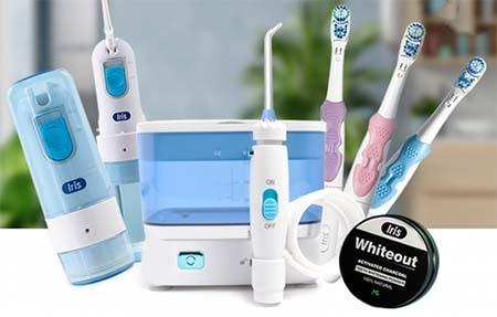 thương hiệu saintlbeau phân phối như máy rửa mặt, máy đẩy tinh chất, bàn chải điện