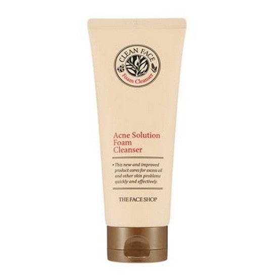 Sửa rửa mặt trị mụn  Acne Solution Foam Cleansing