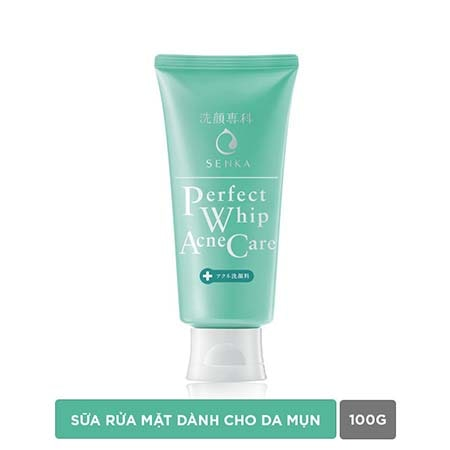 Sữa rửa mặt trị mụn Senka Perfect Whip