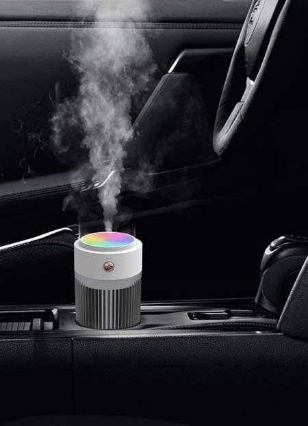 Máy xông tinh dầu tạo độ ẩm cho ô tô