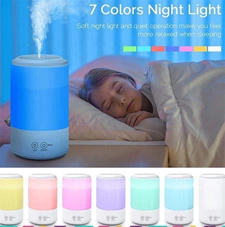 Có khả năng thay đổi màu sắc theo 7 màu khác nhau